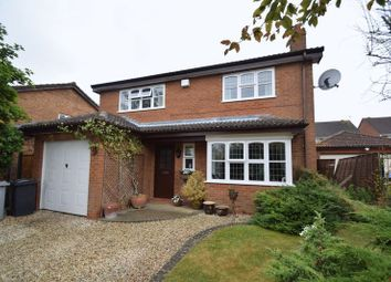 Thumbnail 4 bed detached house for sale in Sterndale Close, Desborough, Kettering