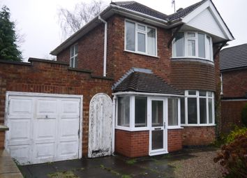 Thumbnail 3 bed detached house to rent in Englefield Road, Leicester