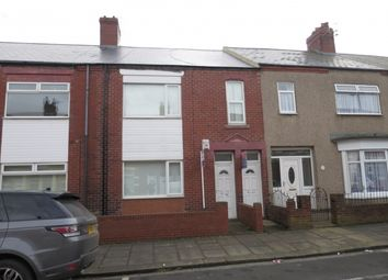 Thumbnail 3 bed flat for sale in Leighton Street, South Shields