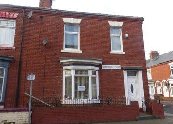 Thumbnail 3 bedroom terraced house to rent in Grosvenor Street, Hartlepool