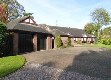 Thumbnail 4 bed detached bungalow for sale in Shady Brook Lane, Weaverham, Northwich, Cheshire