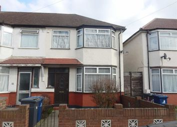Thumbnail 3 bed end terrace house for sale in Brent Road, Southall, Middlesex