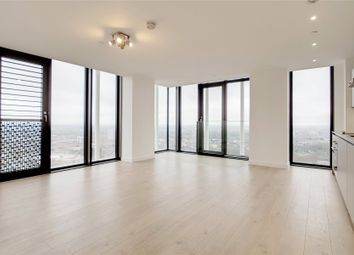 Thumbnail 2 bed flat to rent in Stratosphere Tower, 55 Great Eastern Road, London