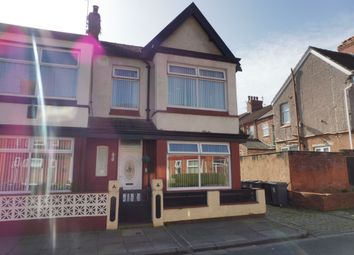 Thumbnail 3 bed end terrace house for sale in Allcot Avenue, Tranmere, Birkenhead