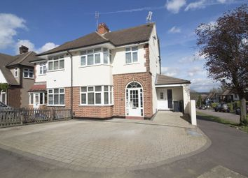 Thumbnail 4 bed semi-detached house for sale in Hilltop, Loughton