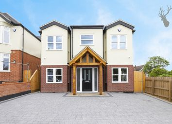 Thumbnail 4 bed detached house for sale in Hill Road, Theydon Bois