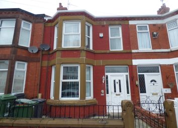 Thumbnail 3 bed terraced house for sale in Temple Road, Birkenhead