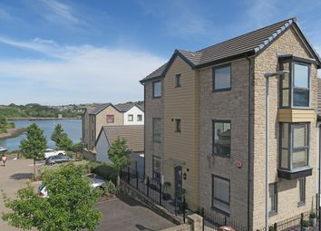 Thumbnail 4 bed town house for sale in Causeway View, Hooe, Plymouth