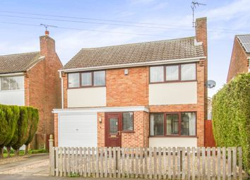 Thumbnail 3 bed detached house for sale in Fenton Close, Oadby, Leicester