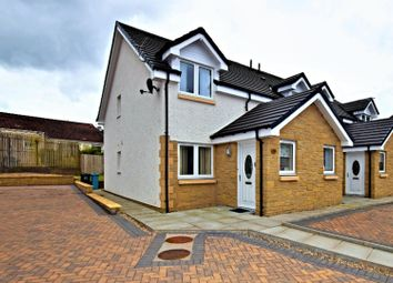 Thumbnail 2 bed semi-detached house for sale in Ryde Road, Wishaw