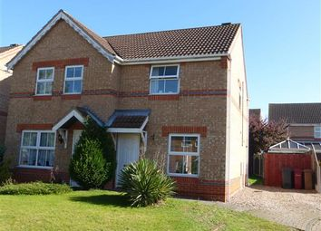 Thumbnail 2 bed semi-detached house for sale in Jesmond Avenue, Bottesford, Scunthorpe
