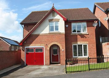 Thumbnail 4 bed detached house for sale in Abbey Gardens, Pontefract