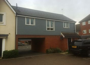 Thumbnail 2 bed town house to rent in Thebe Close, Ipswich