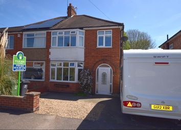 Thumbnail 3 bed semi-detached house for sale in Orchard Road, Birstall, Leicester