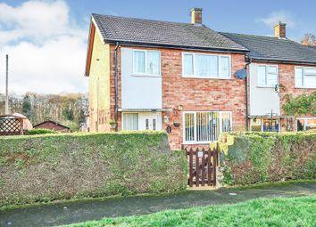Thumbnail 3 bedroom end terrace house for sale in Crane Close, Moorgate, Dereham
