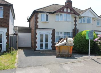 Thumbnail 3 bed semi-detached house to rent in Narborough Road South, Braunstone, Leicester