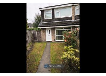 Thumbnail 3 bed semi-detached house to rent in Redesmere Close, Timperley, Altrincham