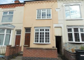 Thumbnail 3 bed terraced house to rent in Sylvan Street, Leicester