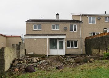 Thumbnail 2 bed end terrace house for sale in Arrael View, Abertillery
