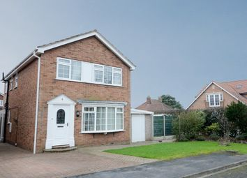 Thumbnail 3 bedroom detached house for sale in Buckden Close, Easingwold, York