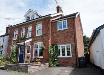 Thumbnail 4 bedroom semi-detached house for sale in Church Road, Chelmondiston