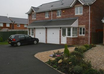 Thumbnail 3 bed semi-detached house to rent in Llys Eglwys, Broadlands, Bridgend