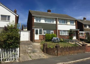 Thumbnail 2 bedroom semi-detached house for sale in Alfriston Gardens, Southampton