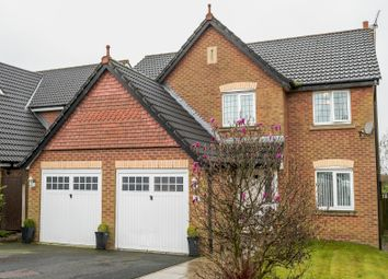 Thumbnail 5 bed detached house for sale in Vale Croft, Upholland, Skelmersdale