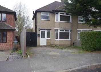Thumbnail 3 bedroom property to rent in Derwent Avenue, Headington, Oxford