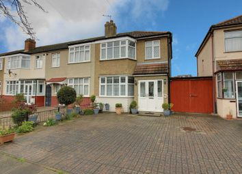 Thumbnail 3 bed end terrace house for sale in Connaught Avenue, Enfield