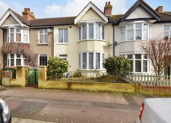Thumbnail 3 bed terraced house for sale in Chart Road, Folkestone