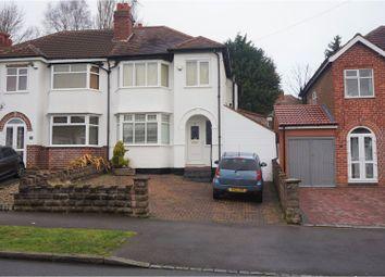 Thumbnail 3 bed semi-detached house for sale in Weymoor Road, Birmingham