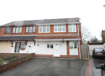 Thumbnail 4 bed semi-detached house for sale in Bear Lane Close, Polesworth, Tamworth
