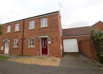 Thumbnail 2 bed end terrace house to rent in Deer Valley Road, Peterborough