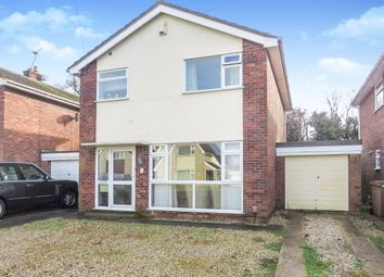 Thumbnail 3 bedroom detached house for sale in Archer Close, Sprowston, Norwich