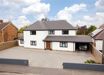 Thumbnail 5 bedroom detached house for sale in Church Road, Stow-Cum-Quy, Cambridge