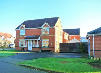 Thumbnail 4 bed detached house for sale in Saddler Drive, Morton, Bourne, Lincolnshire