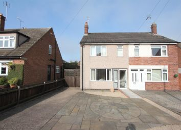 Thumbnail 2 bedroom semi-detached house for sale in Station Road, Earl Shilton, Leicester