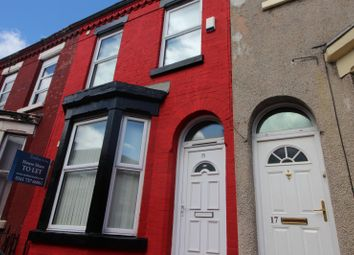 Thumbnail 2 bed shared accommodation to rent in Bradfield Street, Edge Hill, Liverpool