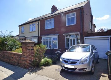Thumbnail 4 bed semi-detached house for sale in The Drive, Longbenton, Newcastle Upon Tyne