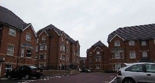Thumbnail 1 bed flat to rent in Royal Court Drive, Bolton