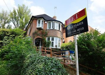 Thumbnail 3 bedroom detached house for sale in Shenley Fields Road, Birmingham, West Midlands.