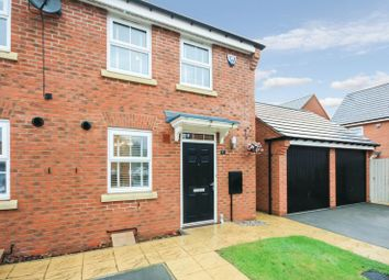 Thumbnail 2 bed terraced house for sale in Fossview Close, Strensall, York