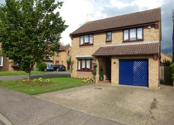 Thumbnail 4 bed detached house for sale in Hoylake Drive, Farcet, Peterborough