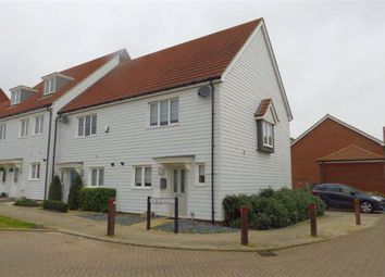 Thumbnail 2 bed end terrace house to rent in Hedge Rows, Hoo, Rochester