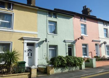 Thumbnail 3 bed terraced house to rent in Harvey Street, Folkestone
