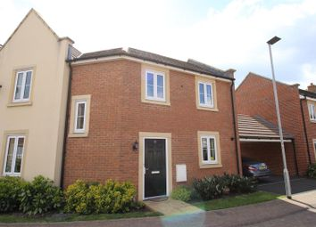 Thumbnail 3 bedroom semi-detached house for sale in Selwood Close, The Sidings, Swindon