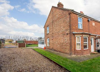 Thumbnail 3 bed semi-detached house for sale in Lynn Road, Walton Highway, Wisbech, Norfolk