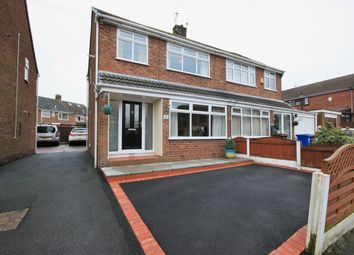 Thumbnail 3 bed semi-detached house for sale in Haddon Road, Wigan