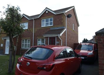 Thumbnail 2 bed semi-detached house for sale in Hollins Wood Grove, Cudworth, Barnsley